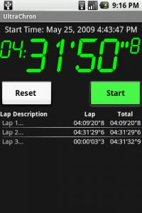 UltraChron Stopwatch