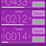 Purple Multi-Timer